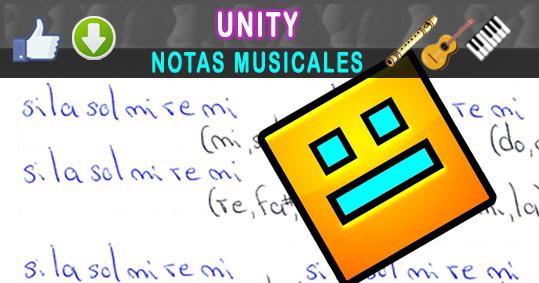 Notas Musicales: Unity / TheFatRat / Notas Musicales + Video Tutorial