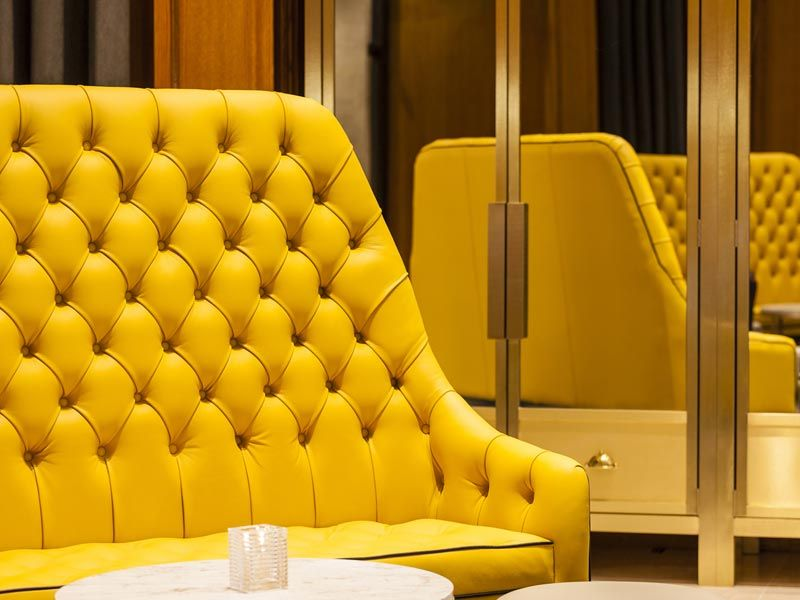 Andy Thornton Furniture At London Marriott Hotel | Custom Made High Wing  Back Sofas In