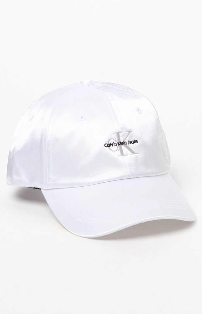 45ffa8bcef9 Calvin Klein For PacSun Satin Baseball Cap at PacSun.com