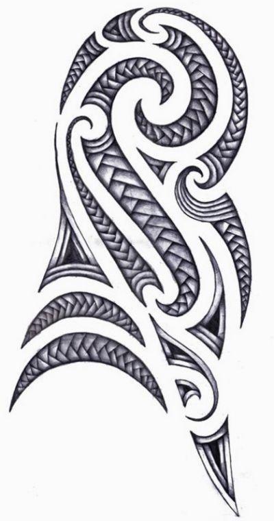Maori Tattoo, Polynesian