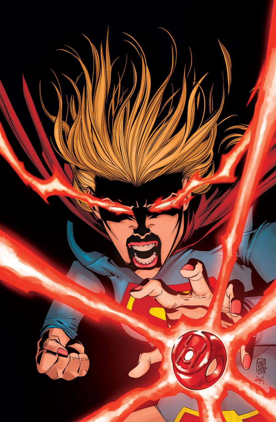 Supergirl Vol 6 The New 52 A RED LANTERN RING Is Coming To Get Kara