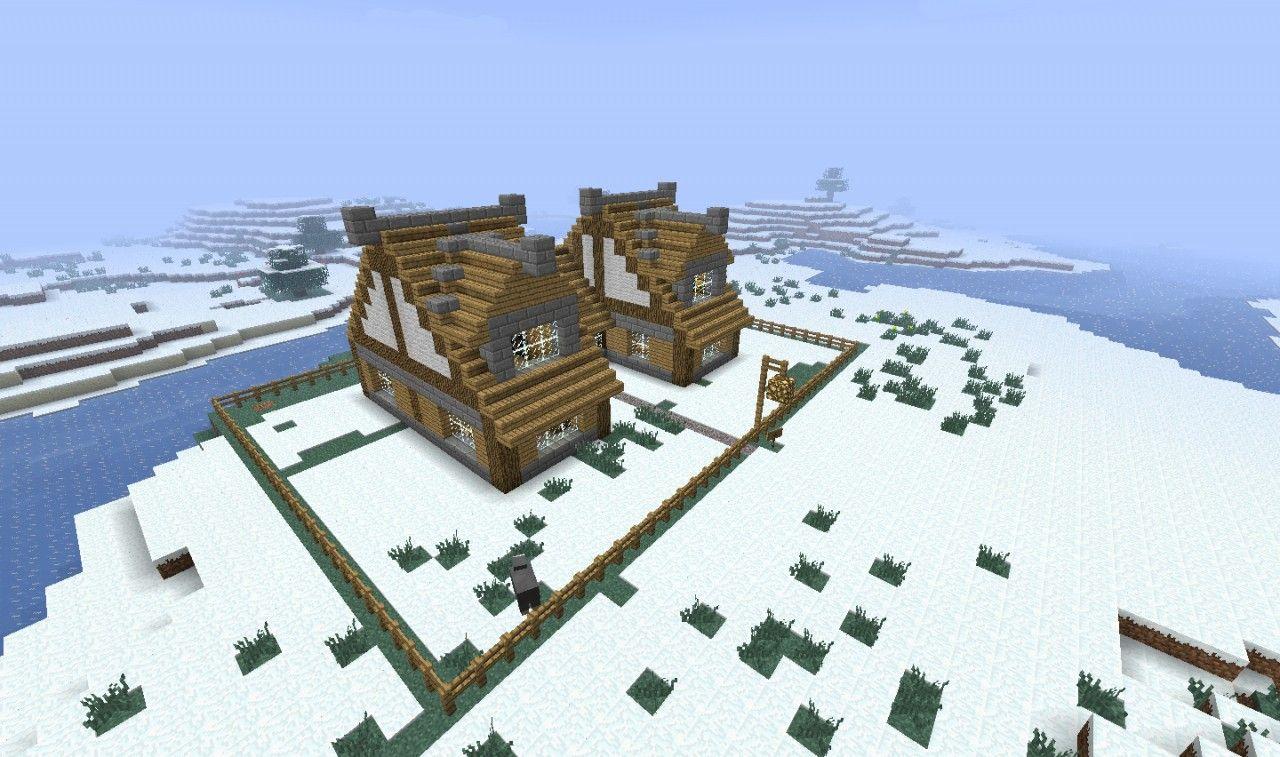minecraft snow biome house  Minecraft houses survival, Minecraft