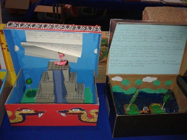 Maquetas Civilizaci 243 N Azteca Civilization School