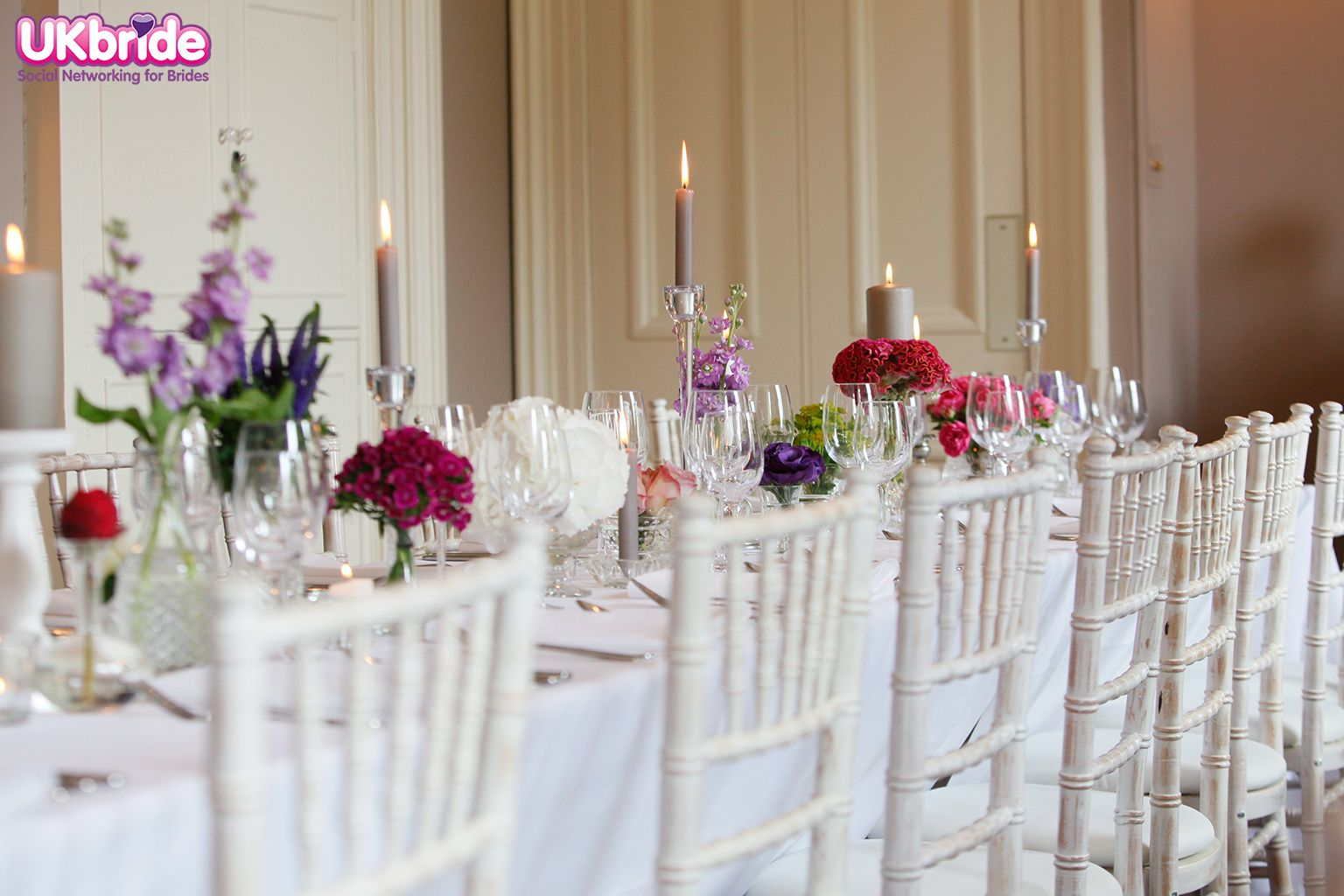 Stunning Wedding Table Decorations By Get Knotted Decorations Visit