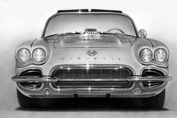 The car symbolizes self 50 mind blowing pencil drawings