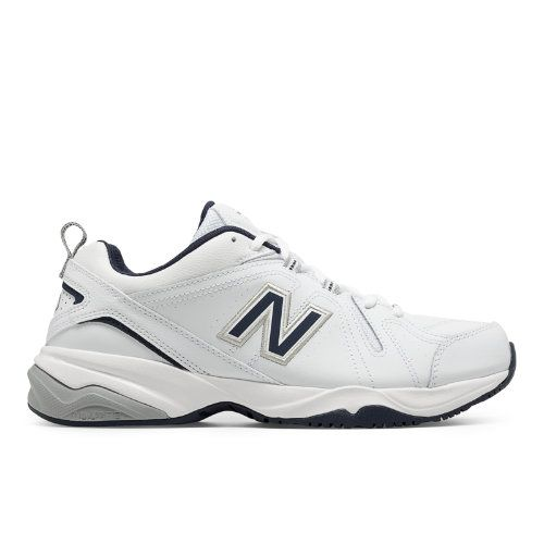 36ab002586b8 New Balance 608v4 Men s Everyday Trainers Shoes - White Navy (MX608V4W)