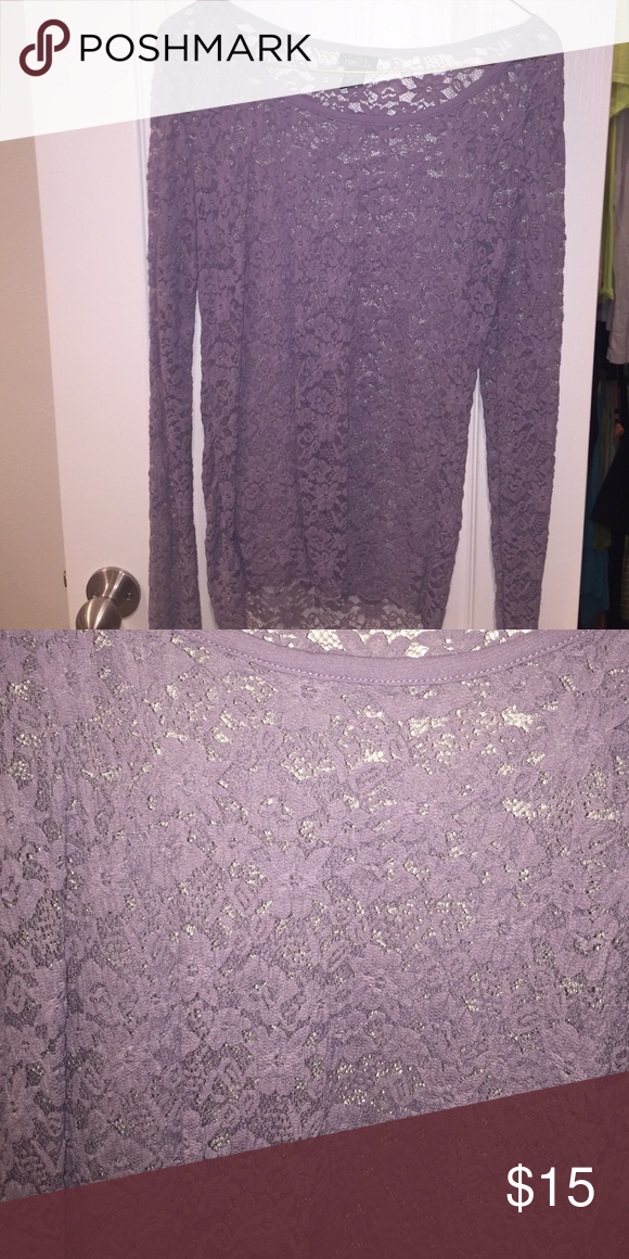 Lace top Long sleeve lace top Rue 21 Tops Tees - Long Sleeve