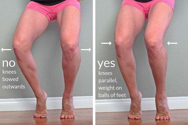 how to get skinny legs in one week