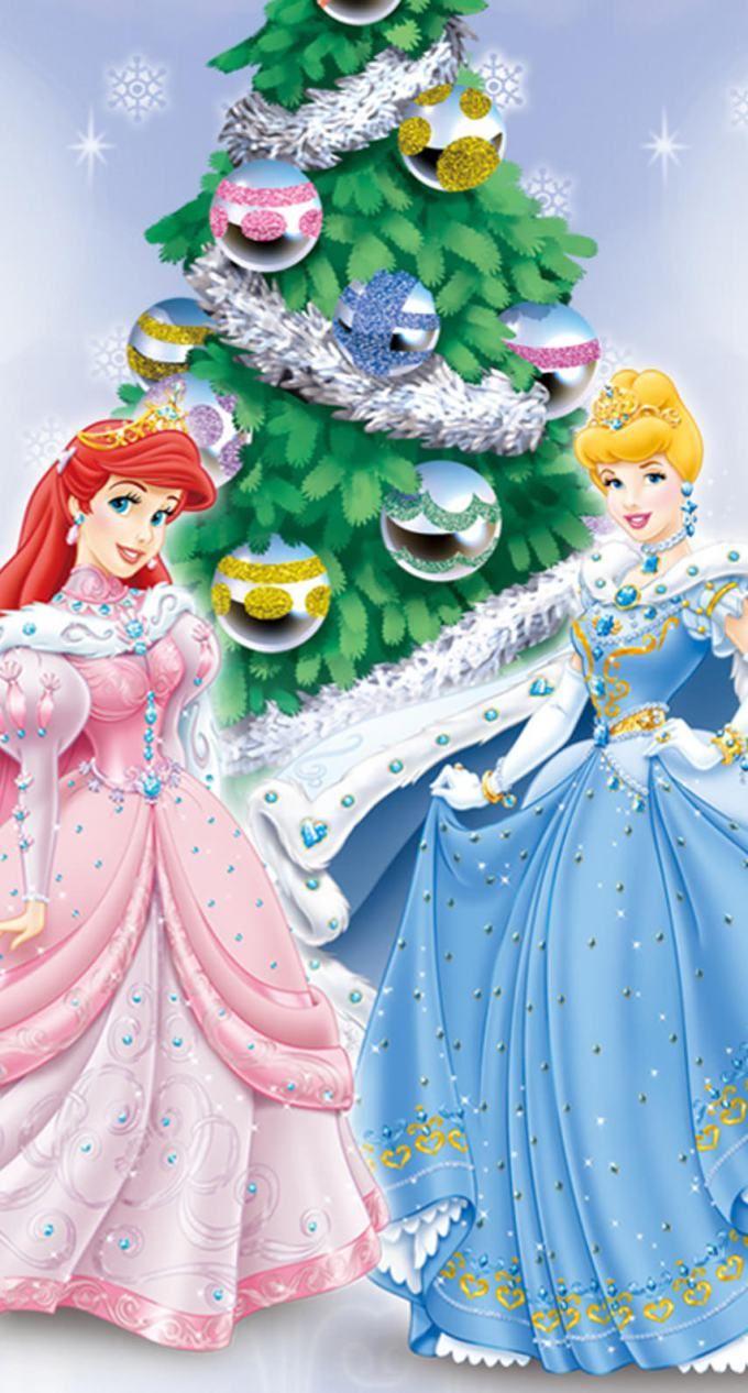 ディズニー プリンセスのクリスマス2 ディズニーのポスター