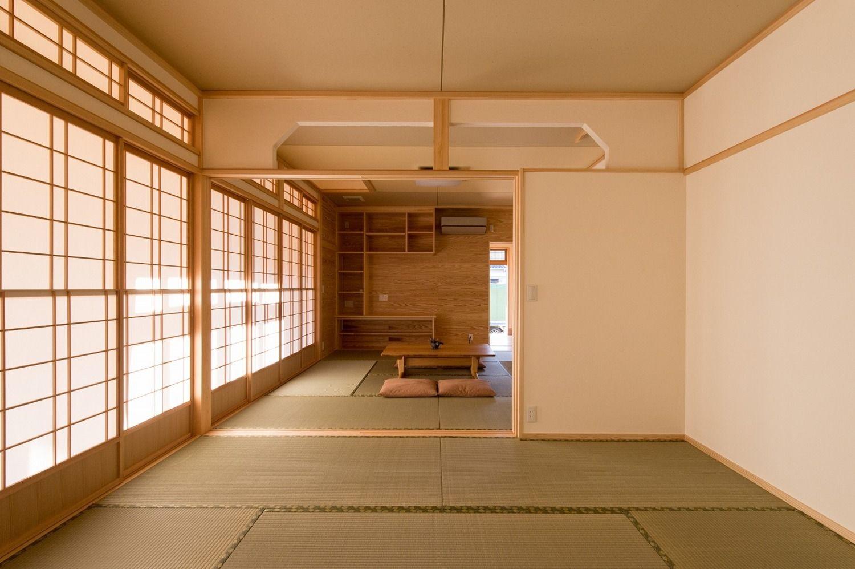 和室の施工事例 フォトギャラリー 小松市のハウスメーカーは梶谷建設 和室 ハウス 梶谷