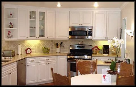 Best 20 Kitchen Cabinet Refacing Ideas Options To Refinish 400 x 300