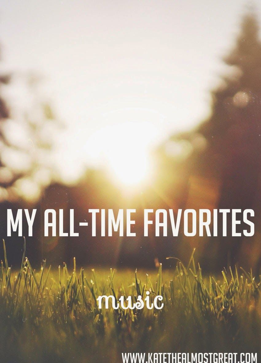 All-Time Faves: Music