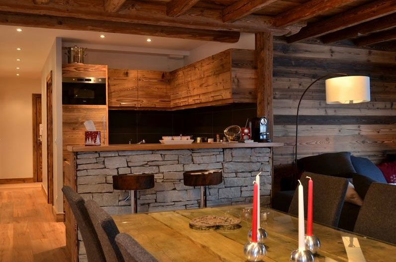 Deco intérieur chalet moderne | Wood stone and Woods