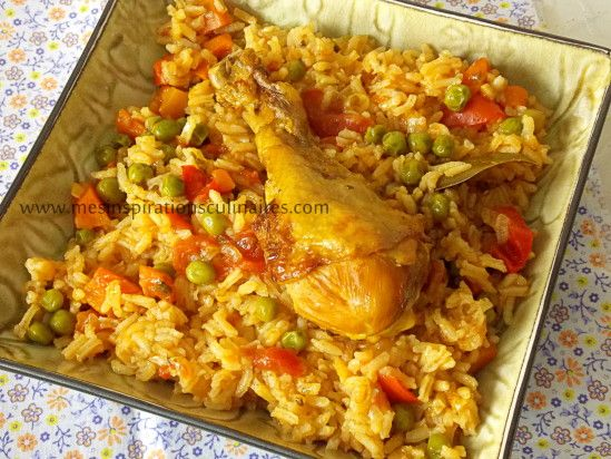 riz au poulet / cuisine algerienne | recipe | ramadan, food and