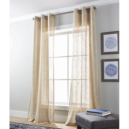 e771ed6492415ef2885090ebda744a07 - Better Homes & Gardens Heathered Window Curtain Panel