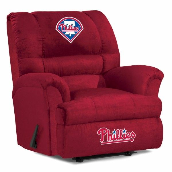 Philadelphia Phillies MLB Big Daddy Recliner Chair/Furniture