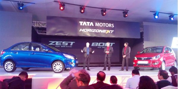 Tata Motors unveils Bolt and Zest, AMT transmission