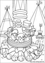 peter pan indian princess coloring pages | Peter Pan coloring pages on Coloring-Book.info | Peter pan ...
