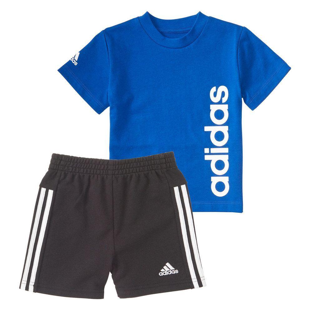 b01cbefad29c29 Toddler Boy adidas Sidekick Graphic Tee   Shorts Set