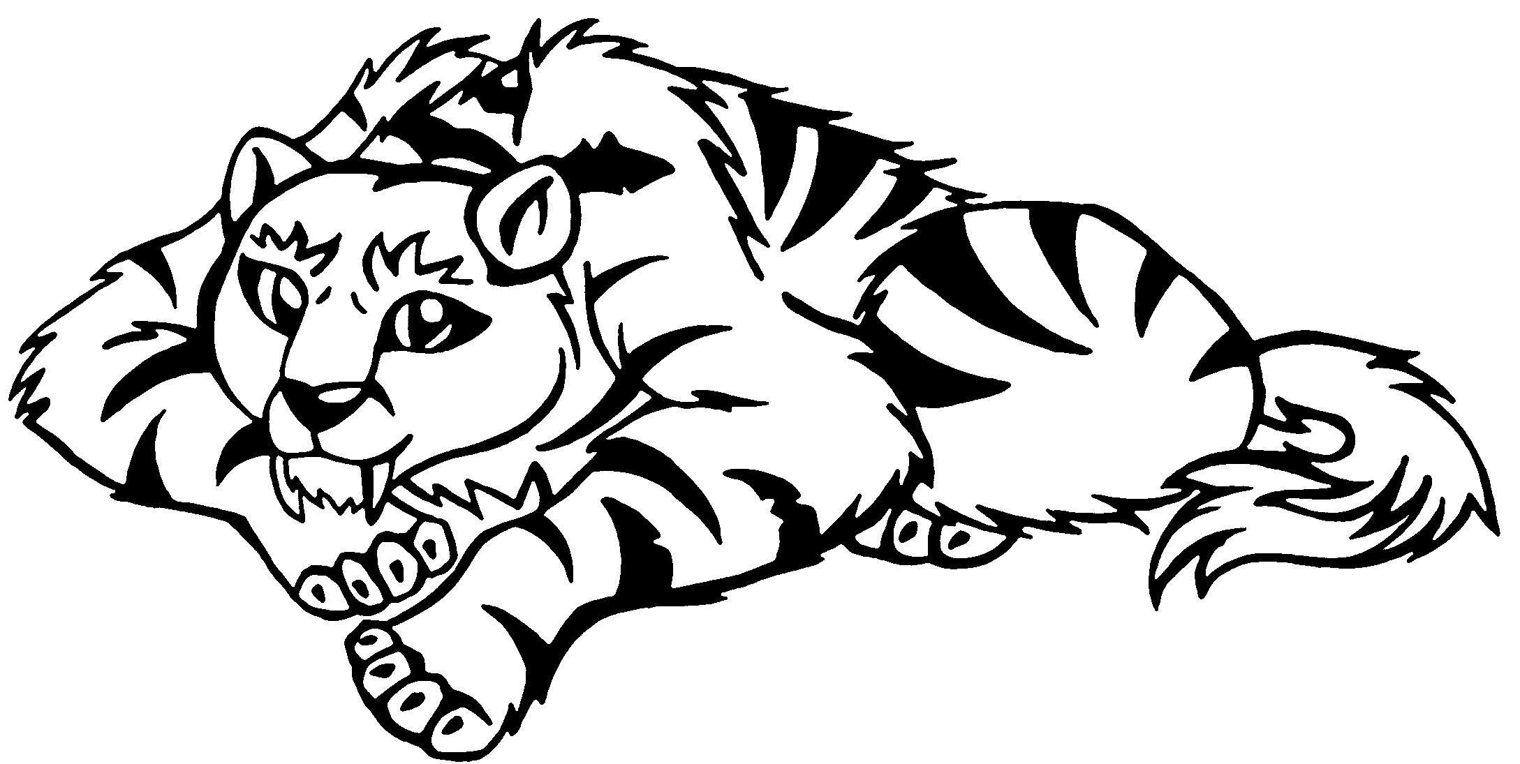 Saber Tooth Tiger Tattoo Sabre Tooth Tiger Tattoo Animal Coloring Pages Shark Coloring Pages Coloring Pages