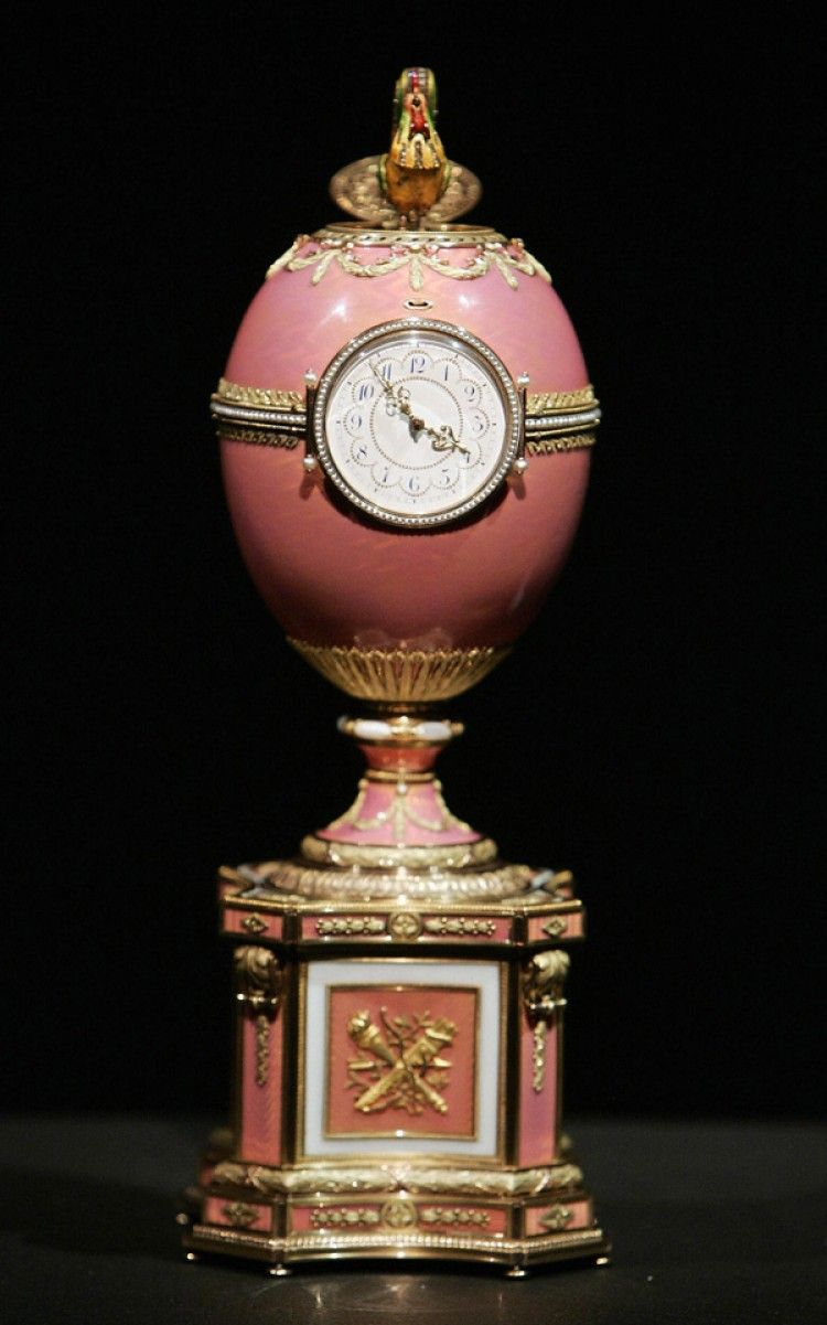 Missing Faberge Eggs | ROTHSCHILDS EGG: A Faberge egg created for the Rothschilds in 1902 was ...