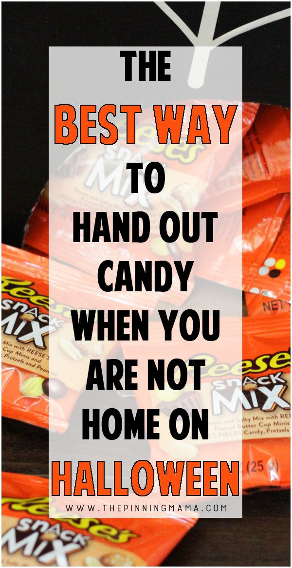 Halloween Hack The BEST way to hand out candy when you