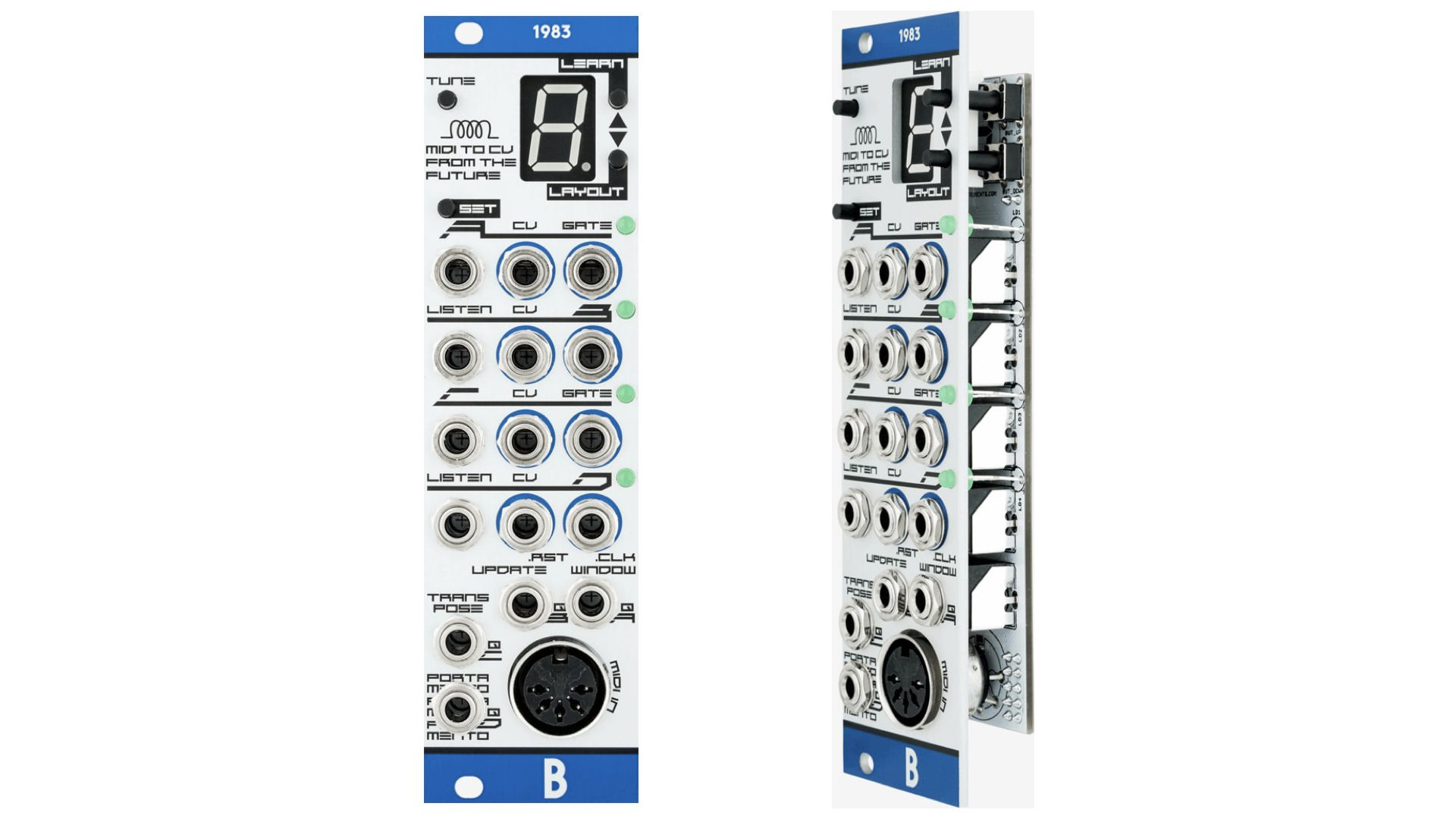 Bastl Instruments 1983 Is A Polyphonic Midi To Cv Interface With Workflow Time Saving Features Interface Eurorack Instruments