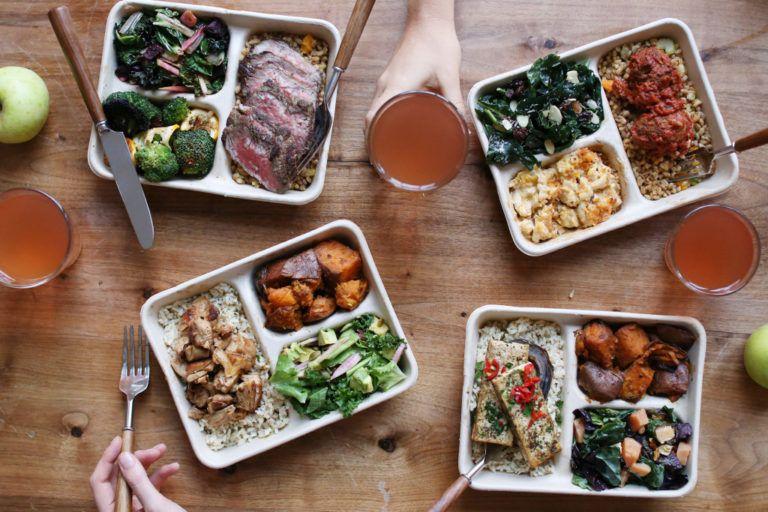 Dig inn healthy fast food seasonal buffet style