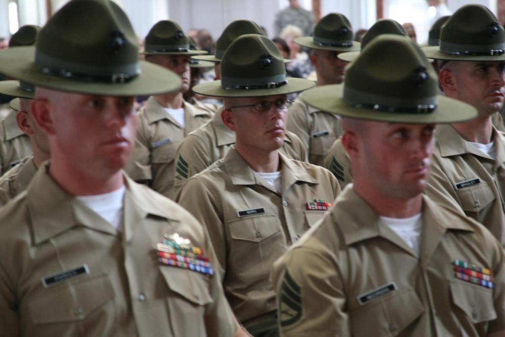 Usmc Di Dvids Images Di School Graduates Newest Hats