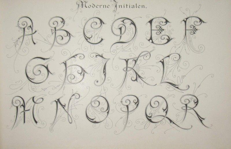 Kaligrafia Alfabet Alfabet Kaligrafia Czcionki