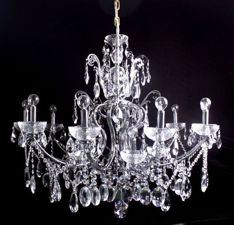 Tomia Crystal Chandeliers L 1070/15/013 chrome/ Bohemian Crystal ...