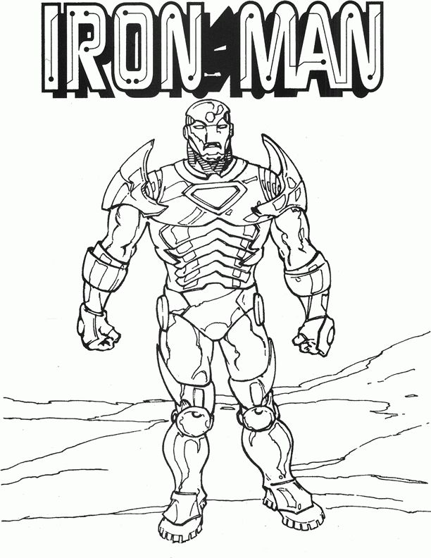 Malarbok Iron Man Att Skriva Ut14 Malarbok Iron Man For Barn