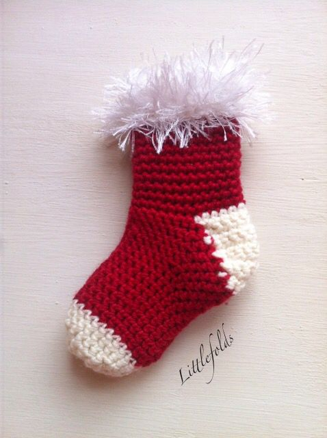 Christmas Crochet Mini Stockings Pattern Will Be Available Soon