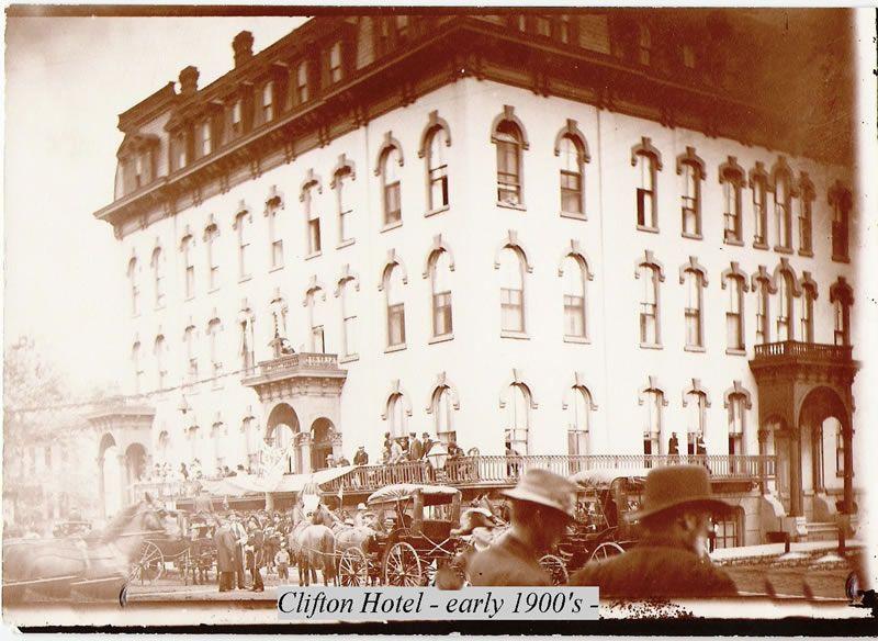 Clifton Hotel Ottawa Illinois Early 1900 S