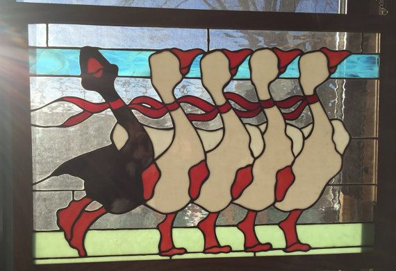 Whimiscal One of a Kind Black Sheep Dancing Goose door BennettChase