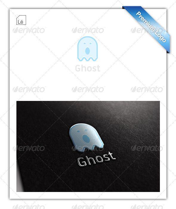 Baby Ghost Logo Technology Logo Logo Design Ghost Logo