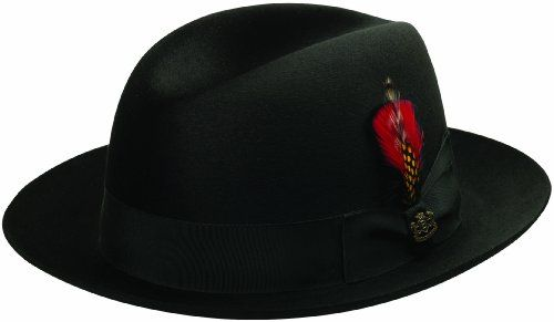 bebb68729b69d Biltmore President Eleganza CHICAGO Hats Black7 12 -- Details can be found  by clicking on the image. (This is an affiliate link)  WinterHatsforMen
