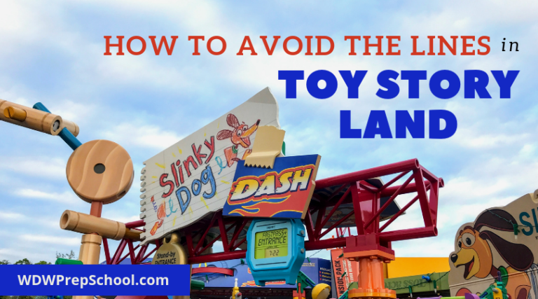 Our best tips to avoid the lines in Toy Story Land Toy