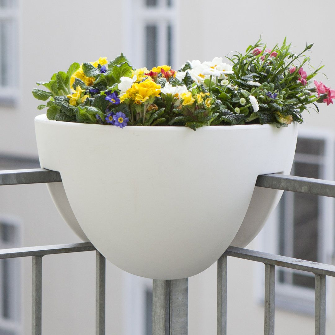 Composizione Vasi Da Balcone balcony flower pot (com imagens) | ideias, casas, original