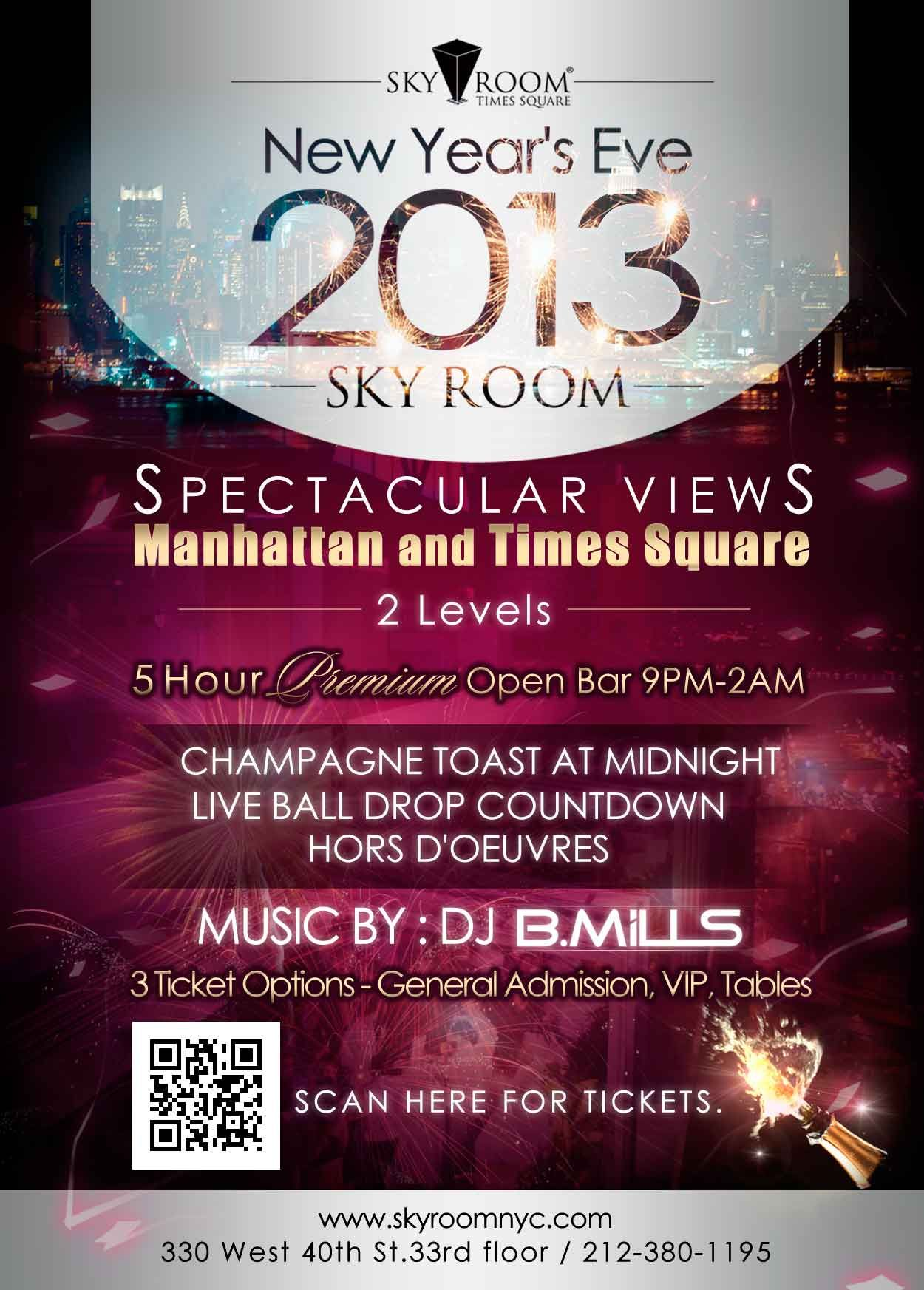 Sky Room Live Part - 48: New Yearu0027s Eve At Sky Room NYC. NYCu0027s Tallest U0026 Sexiest Rooftop Lounge  Located In