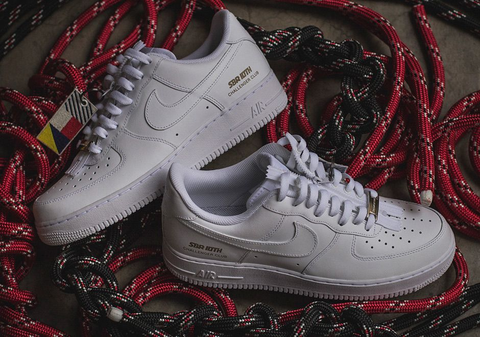"2cb2d1199a9  sneakers  news SneakersBR Celebrates 10th Anniversary With Custom Air  Force 1 ""Challenger Club"""