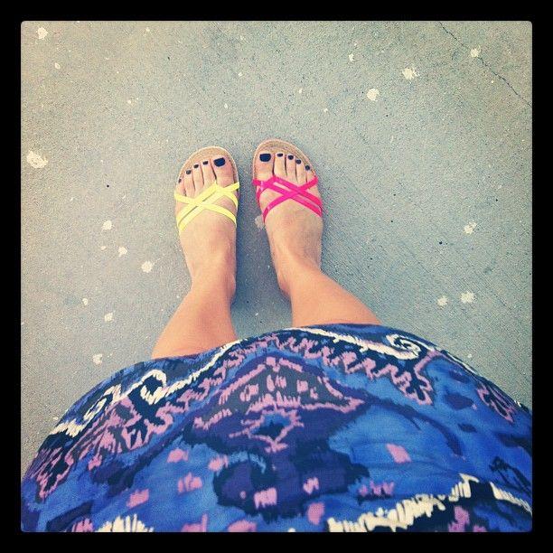 @sloansymington | Vacay shoes cc @miashoesinc