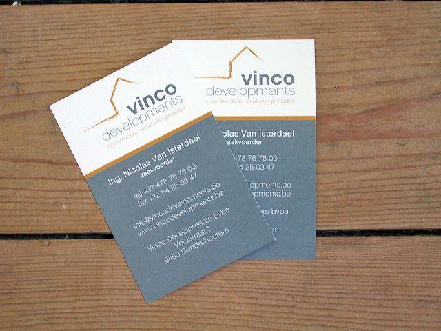 Nicolas Van Isterdael This Single Sided Business Card Belongs To A