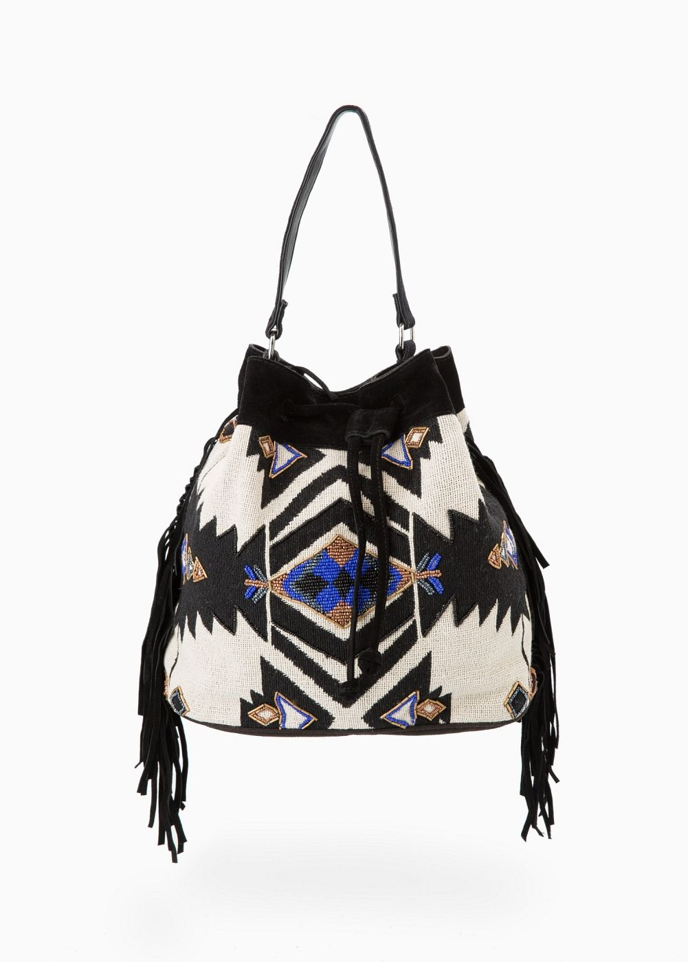 f3a062a6bacc Ethnic bucket bag - Women