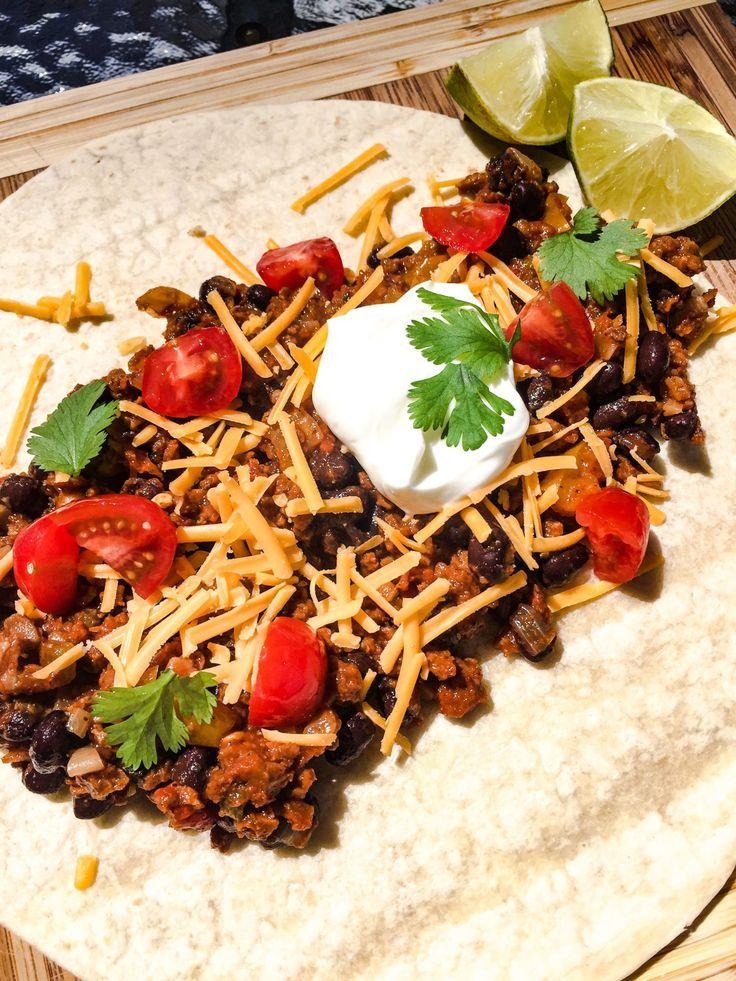 Meatless Meaty Taco Mix