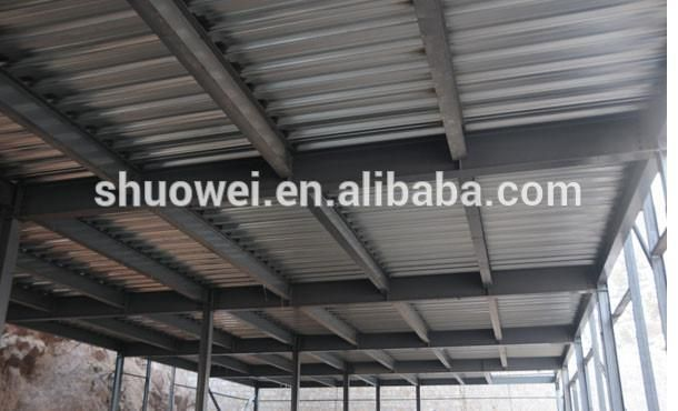 Galvanized Steel Decking And Metal Corrugated Sheet Added By Concrete Buy Metal Corrugated Sheet Galvanized Steel Floor D Galvanized Steel Concrete Buy Metal