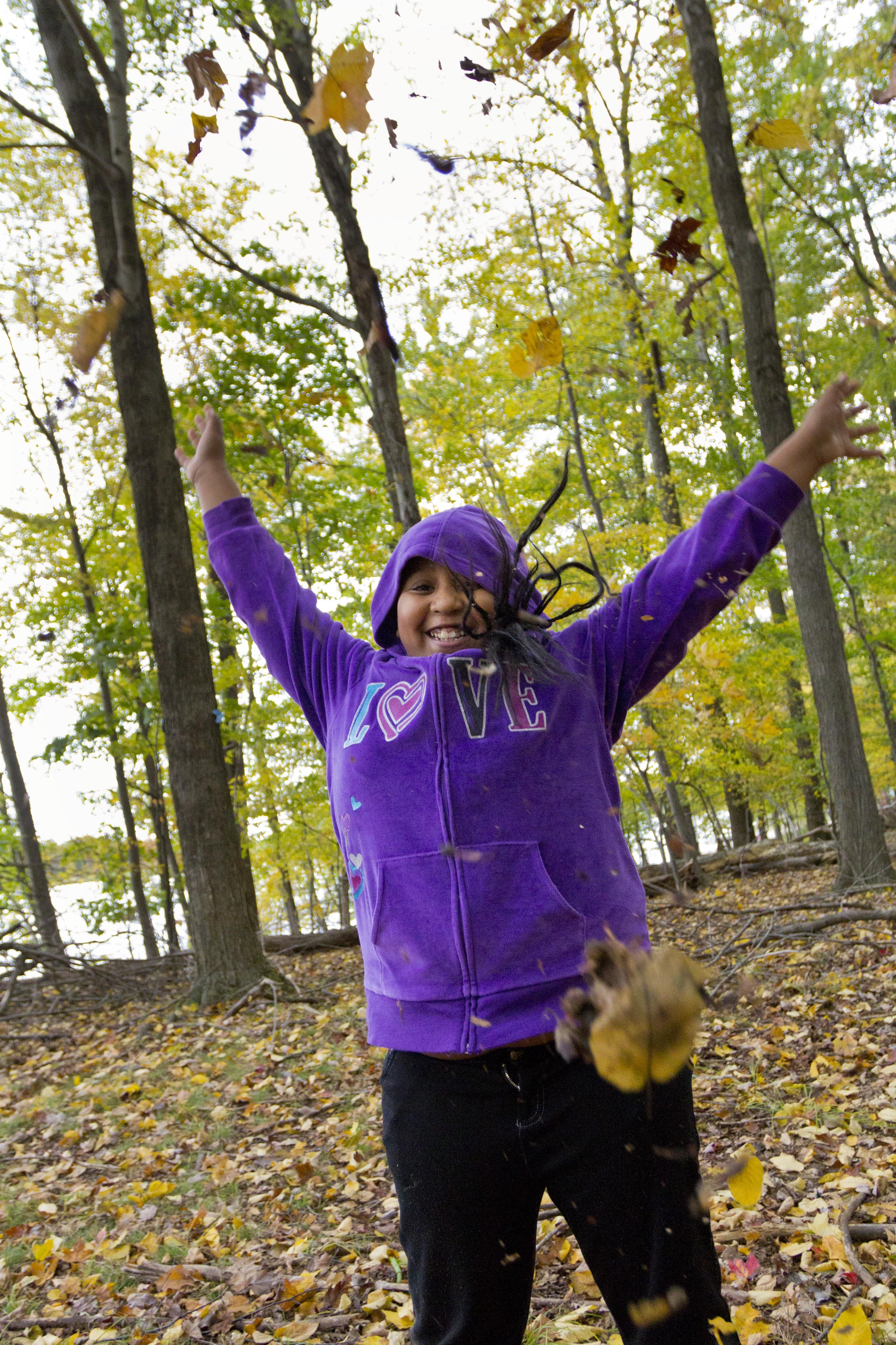 Crisp air and leaves on the ground won't stop ABC campers