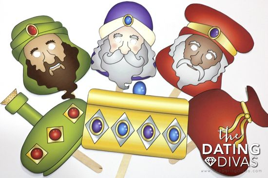 Fun And Free Nativity Printable Masks The Dating Divas Christmas Photo Booth Props Christmas Photo Booth Nativity