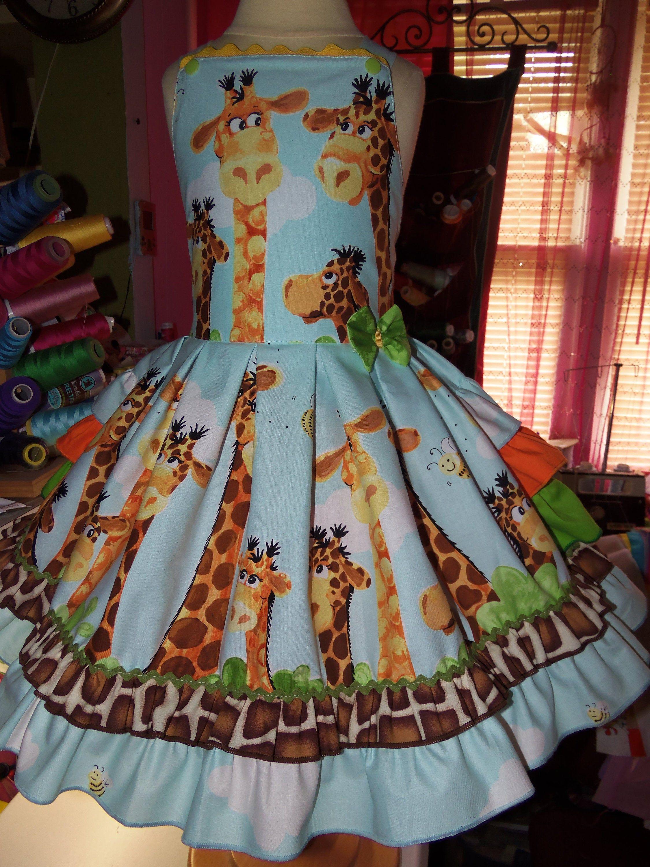 Family Giraffe Back To School Party B Day Ruffle Dress Size Etsy Ruffle Dress Back To School Party School Parties [ 3000 x 2250 Pixel ]