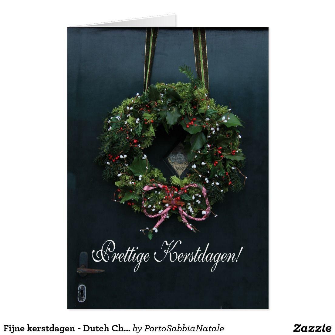 Kerstdagen dutch christmas card fijne kerstdagen dutch christmas card kristyandbryce Choice Image